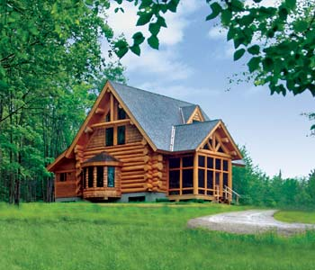 Small Log Homes Design Contest 2 Camp Dancing Bear By