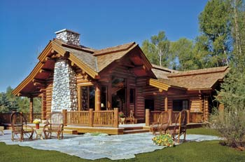 Small log homes design contest 4 echoing the past by for Alpine home design