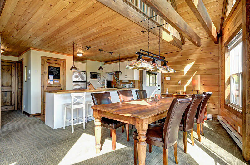 The St Bernard Log Home Floor Plan By Timber Block Log