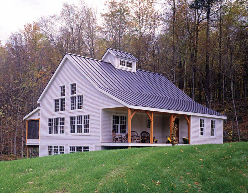 Classic homestead timber home floor plan by davis frame for Homestead house plans