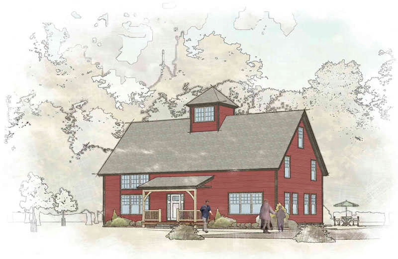 66 - Timber Frame Barn Home Plans