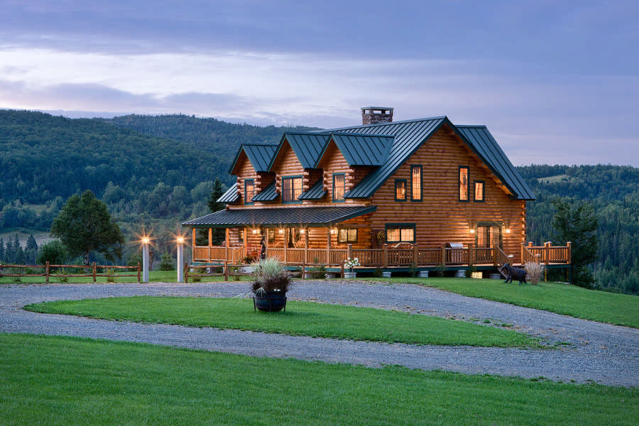 Bear Rock Log Home Plan By Coventry Log Homes Inc