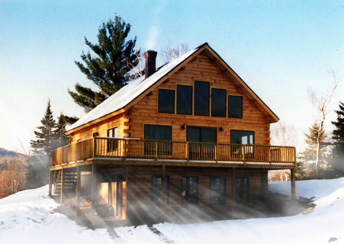 Hybrid Log House Plans Mywoodhome Com Part 95