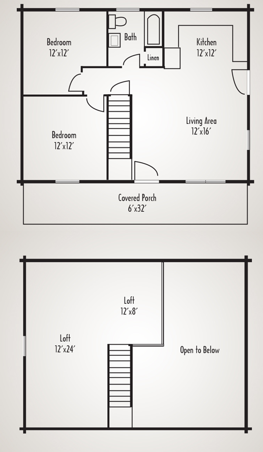 Woodland log cabin home plan by coventry log homes inc for Coventry homes floor plans