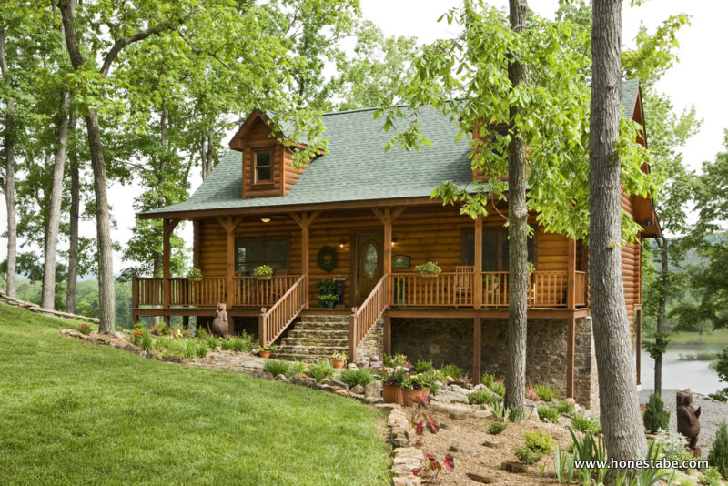 Traditional log home floor plans for Traditional log cabin plans