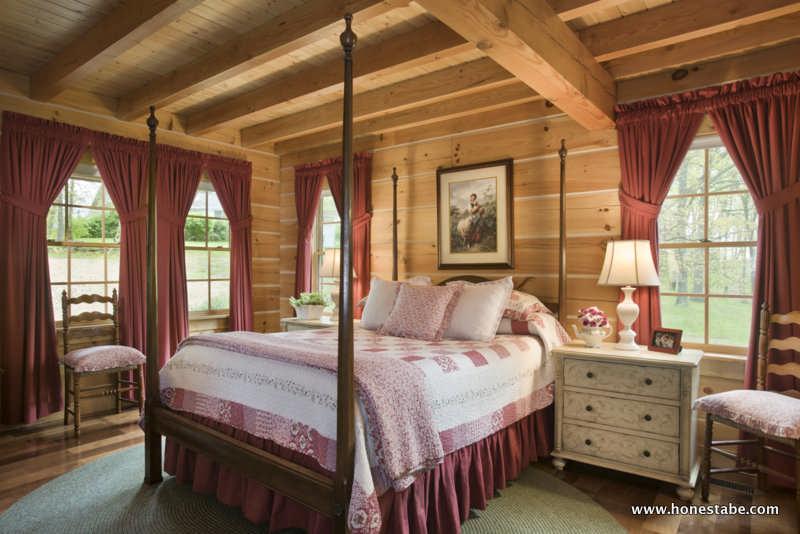 Clayton Log Cabin Honest Abe Homes Inc Mywoodhome