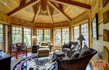 Citadel 5 By True North Log Homes