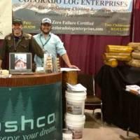 colorado-log-enterprises-Sashco-show-booth