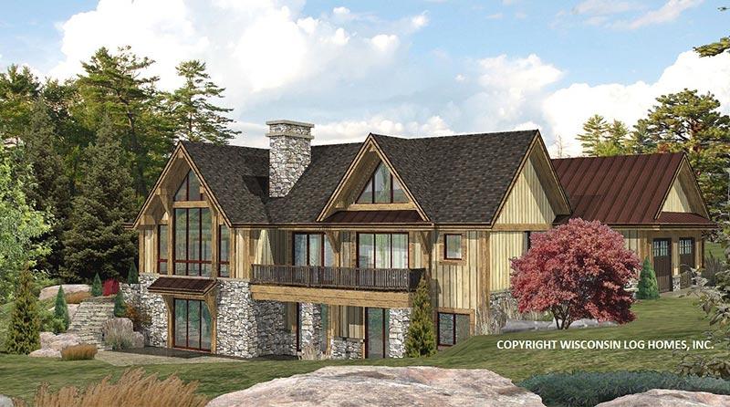 Log Homes Hybrid Log House Plans Log Cabin Floor Plans Ranch House