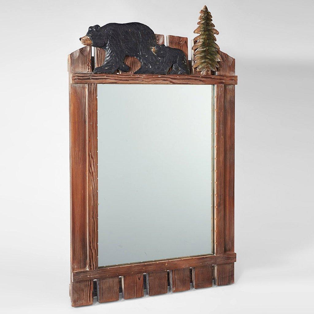atmosphere leisure black bear mirror