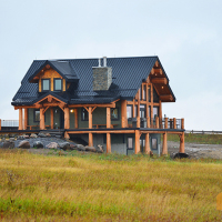 tyee log homes