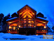 Tyee timber frame home