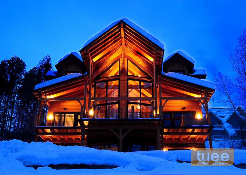 Tyee timber frame home