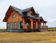 tyee Prairie-Log-Post-and-Beam