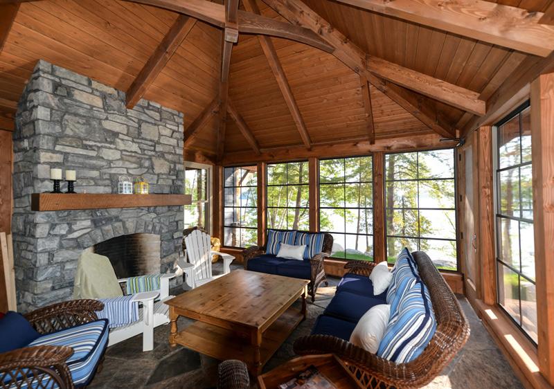 cozy inlet timber frame floor plan by canadian timber. Black Bedroom Furniture Sets. Home Design Ideas