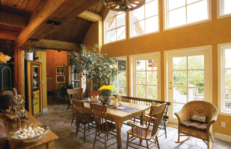 Using Drywall In Log Homes - Cabin Life