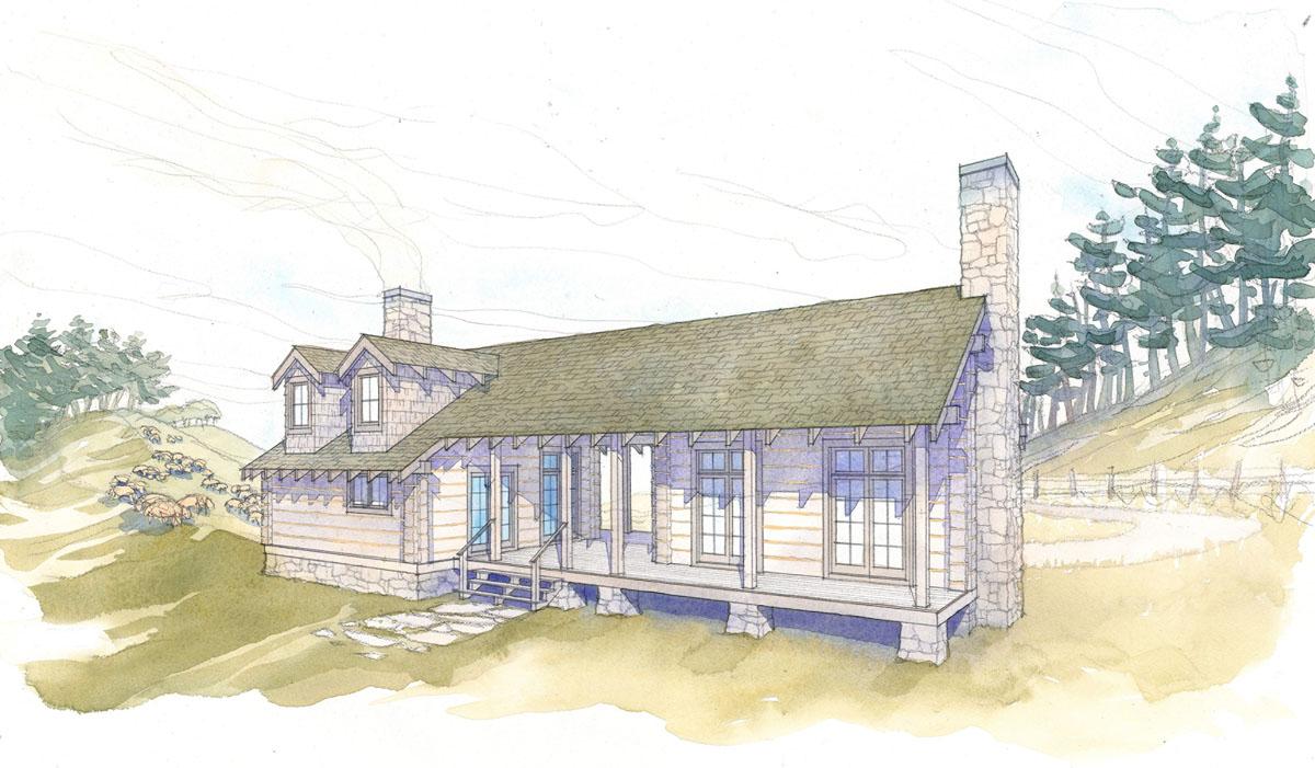 home plans for a dogtrot log cabin cabin living