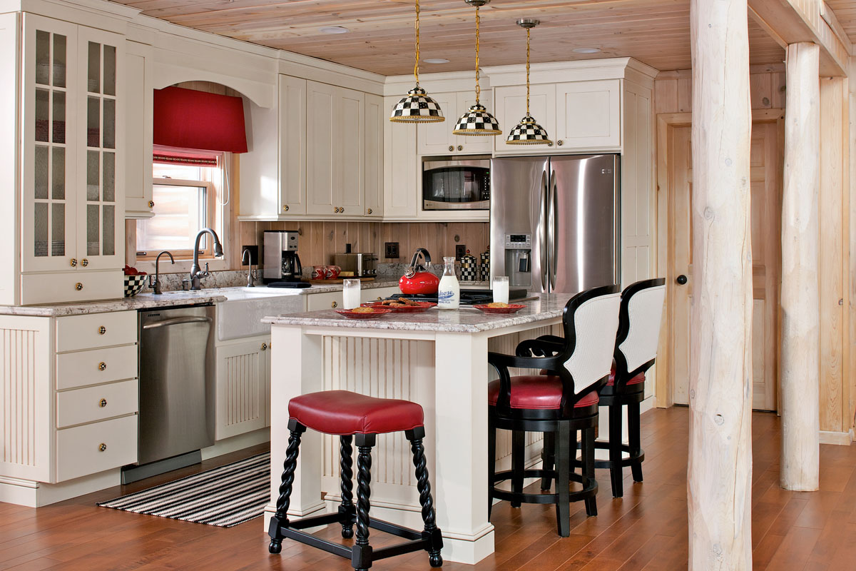 3 Cabin Kitchen Remodels