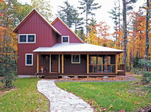 Build your dream cabin on a budget for Building a cottage on a budget