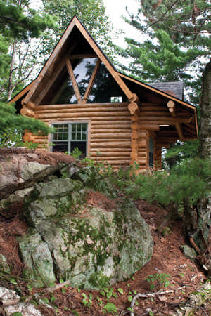 how to add audition small log cabins