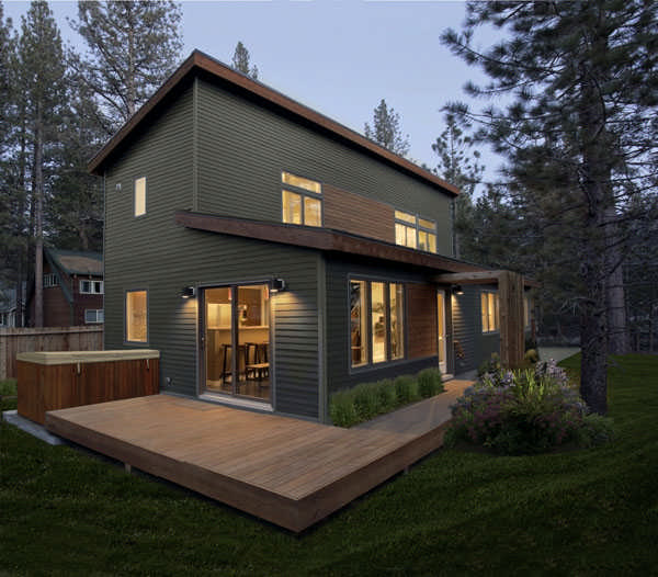 Modular Cabin On Lake Tahoe Cabin Life