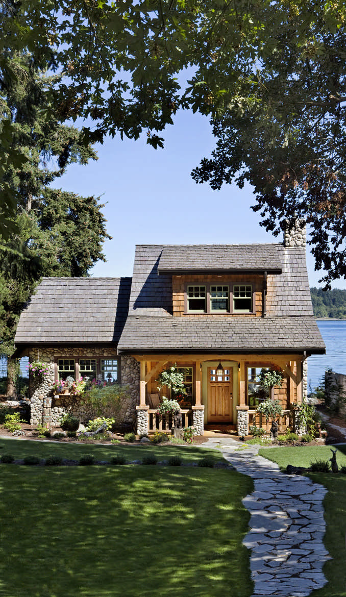This Cottage On The Puget Sound In Washington Is A Beautiful Example Of A  Smart Cabin Design.