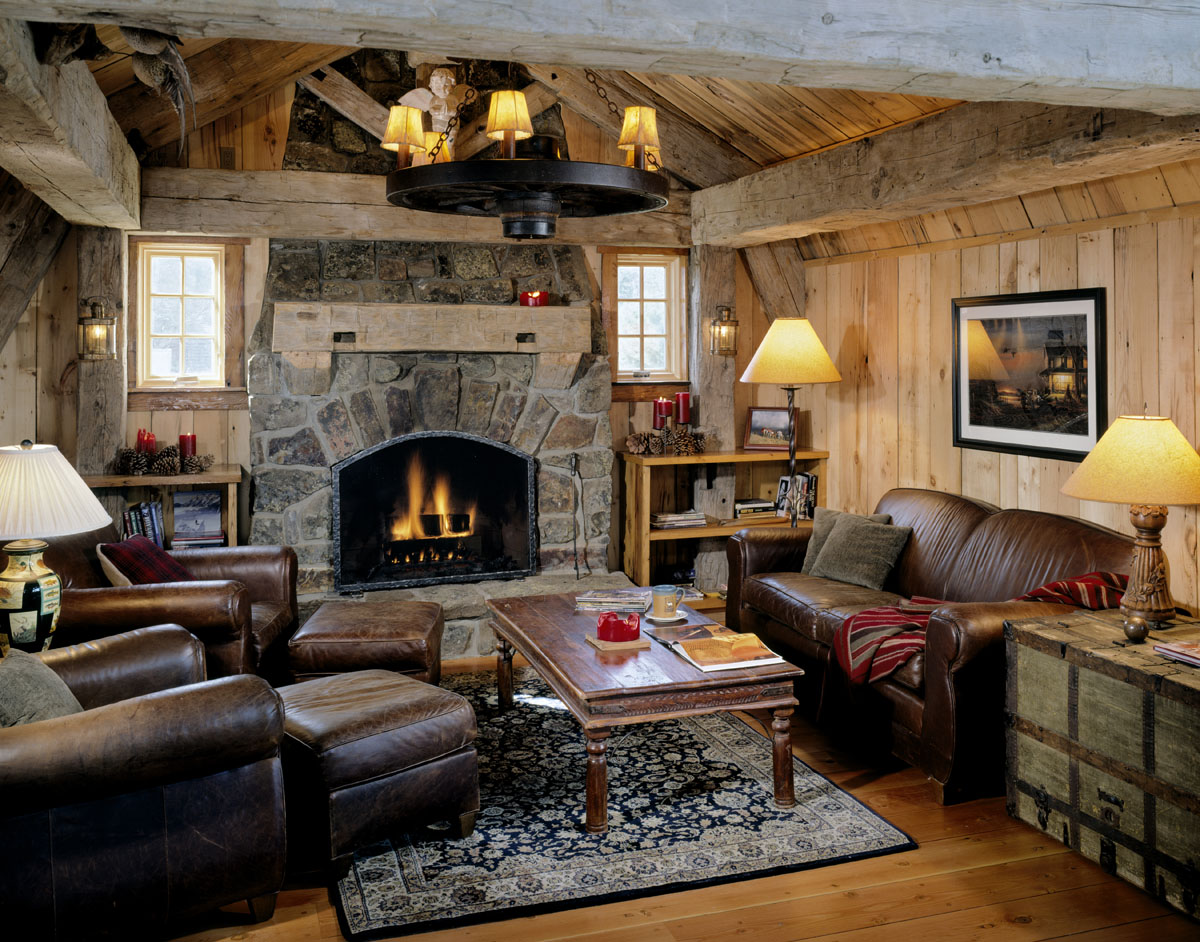 this old cabin was rebuilt to last cabin living