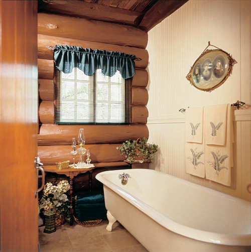 An Update On My Log Cabin Renovation: Rustic Log Cabin Renovation In Oregon