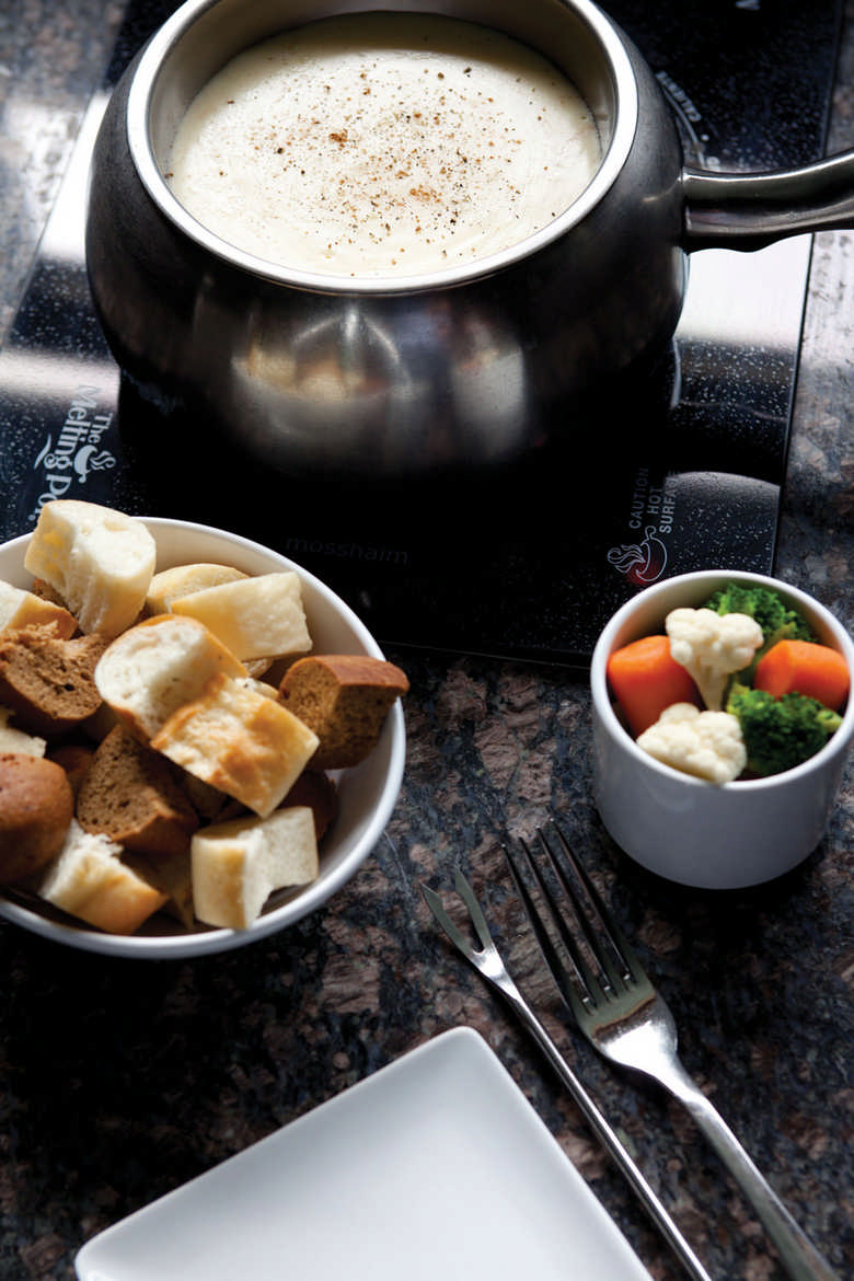 three fondue recipes from the melting pot. Black Bedroom Furniture Sets. Home Design Ideas
