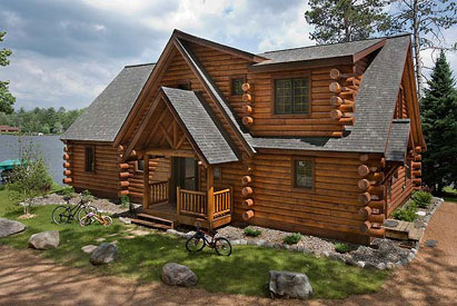 vacation log cabin