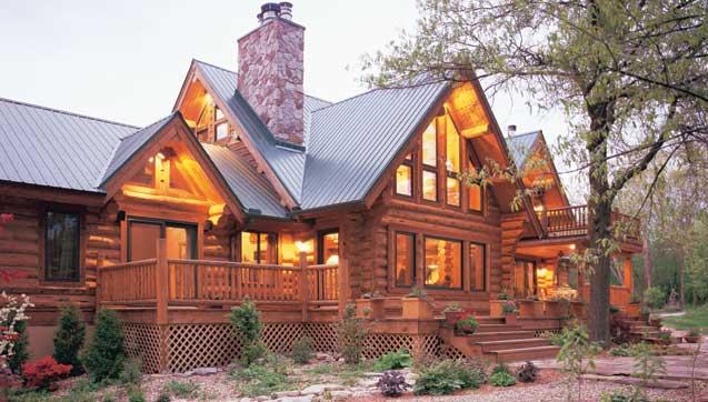 Montana Log Homes Mlh 037 Eden Camp Log Home