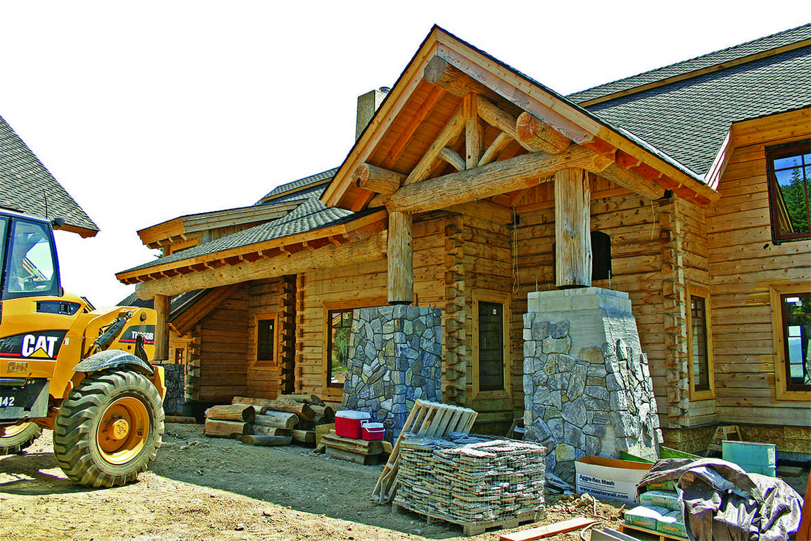 Log cabin building tips how to build a log home quickly for Log construction