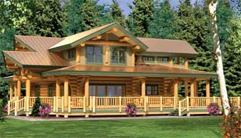 8 smart ways to cut costs when building a log house for Ways to cut cost when building a house