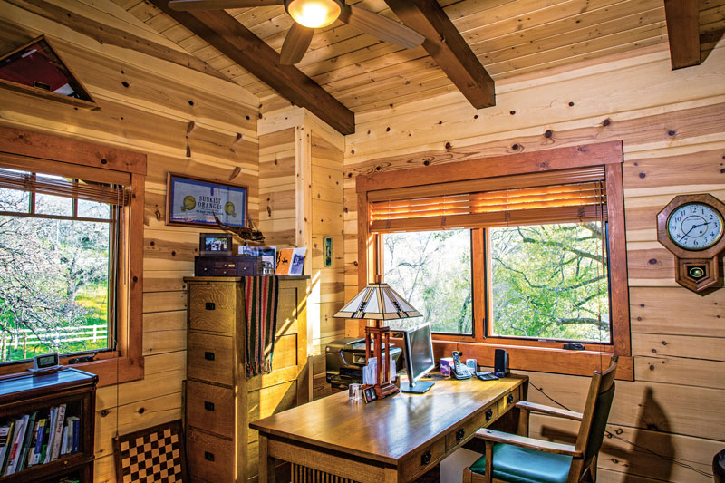 Types of Wood For Log Homes