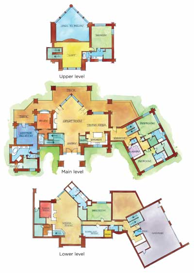 photo source roseanne house floor plan second floor house and home design - Roseanne House Plans