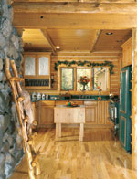 outside-influence-log-home-kitchen