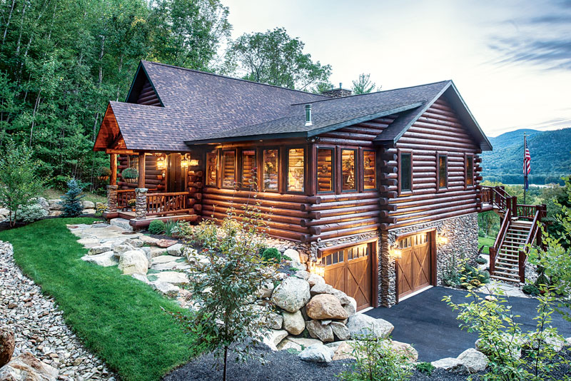 Wood Treatment Options For Log Homes