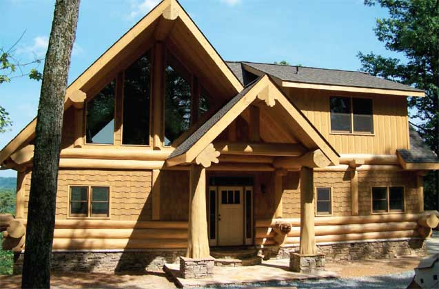 Log Homes Canada Dreams Log Home