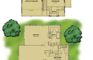 eagle-river-log-home-plan