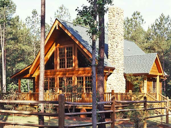 Harmony lane a log home in georgia for Georgia house plans