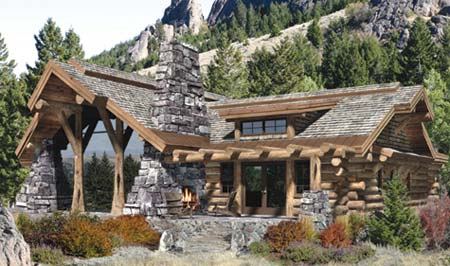 Best floor plans less than 2 500 square feet log home for 2500 sq ft log home plans