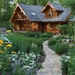 classic-log-cabin-walkway