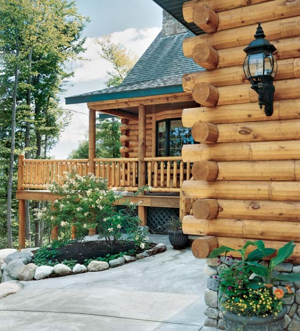 Planning A Mountainside Log Home In New Hampshire