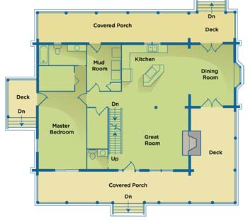 florida-log-home-plan-4