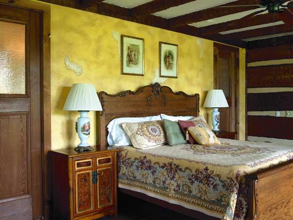 new_old_log_home_bedroom
