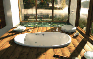 luxury-log-home-bath