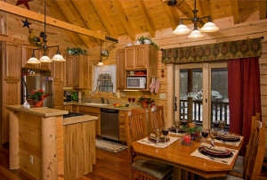 roadside_log_home_kitchen