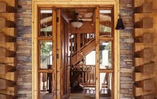 Georgia_Log_Home_entrance