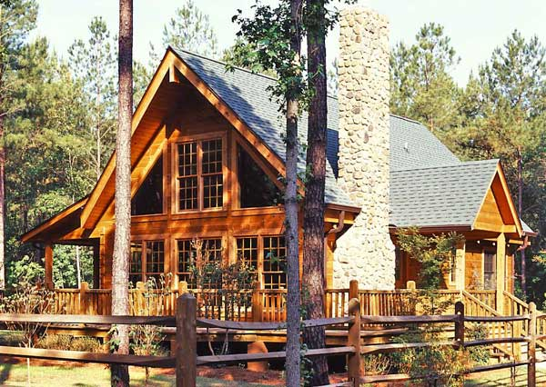 Make the most of the space in your log home.