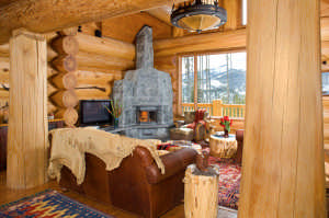 building a handcrafted log home